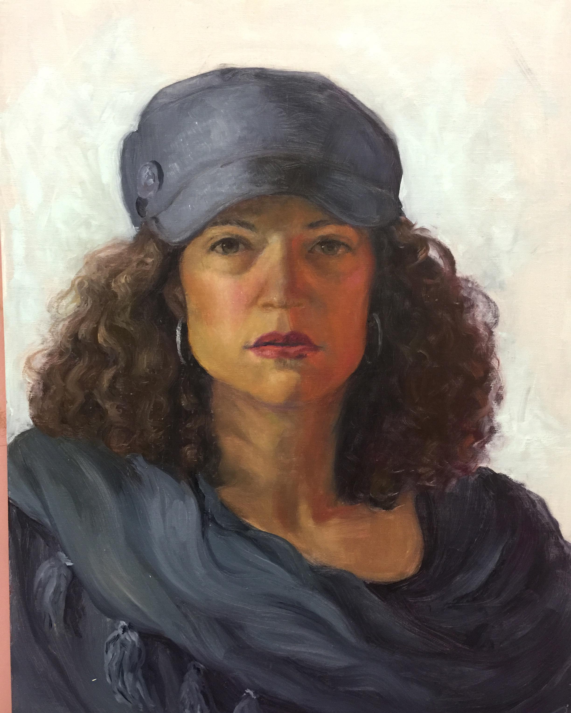 Self w Grey Hat