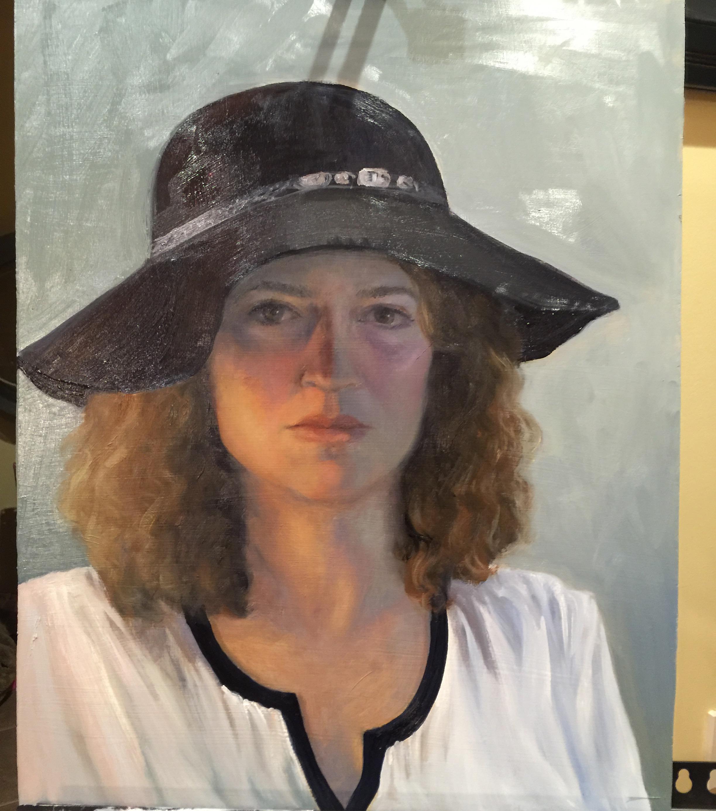 Self w Black Hat