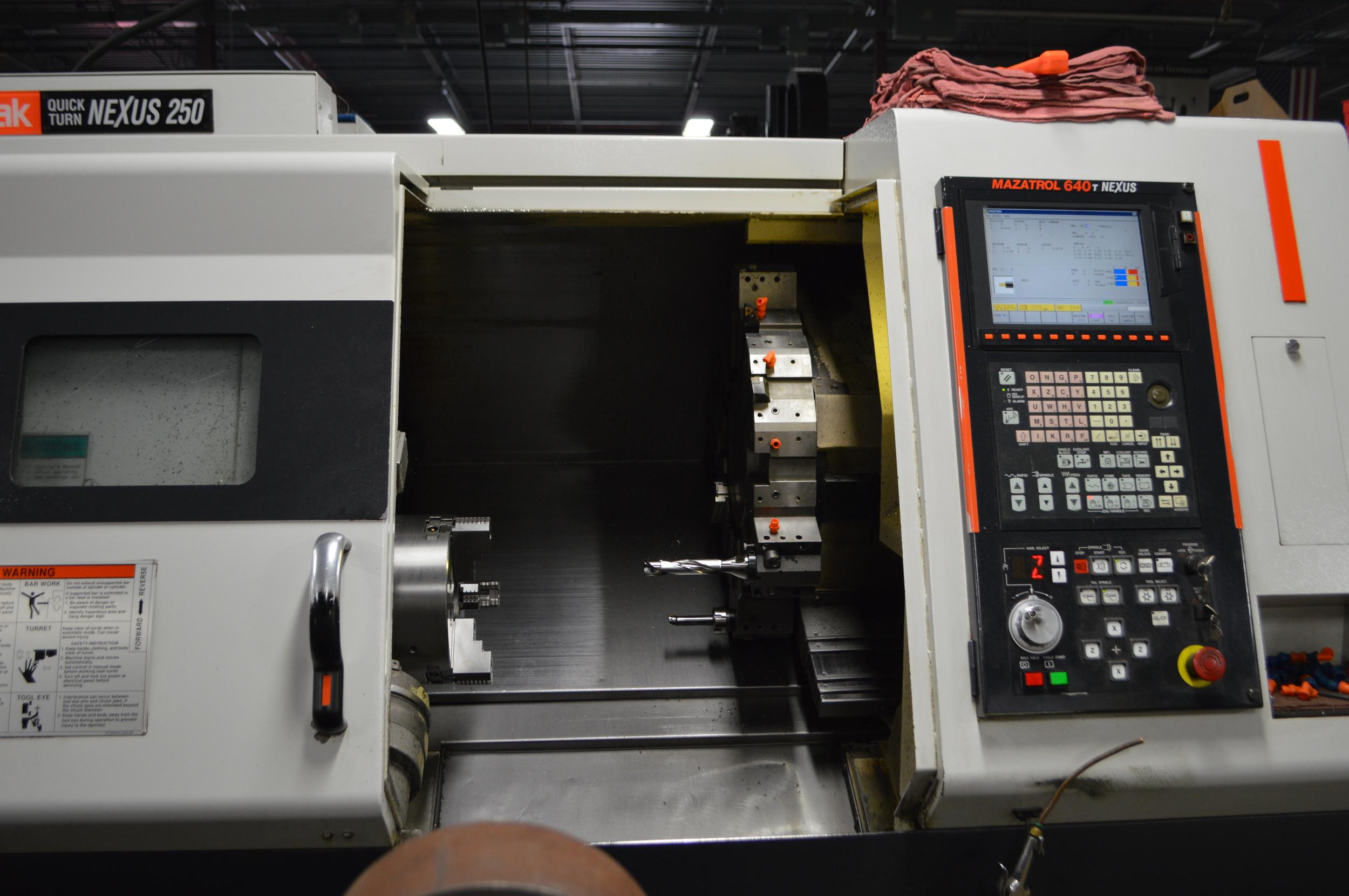 Mazak-nexus-machine-shop