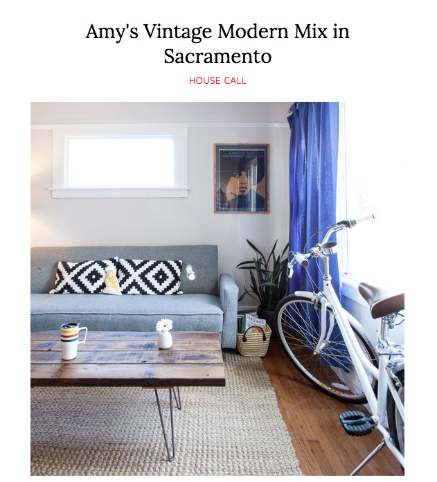 House Call - Amy's Vintage Modern Mix in Sacramento