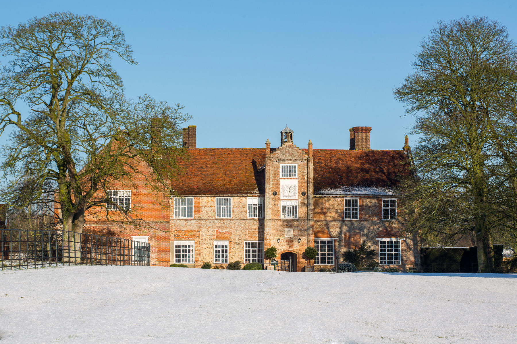 Bruisyard Hall in the Snow. Photo To Be Credited To Dominic Whiten www.dominicwhiten.co.uk-5003.jpg