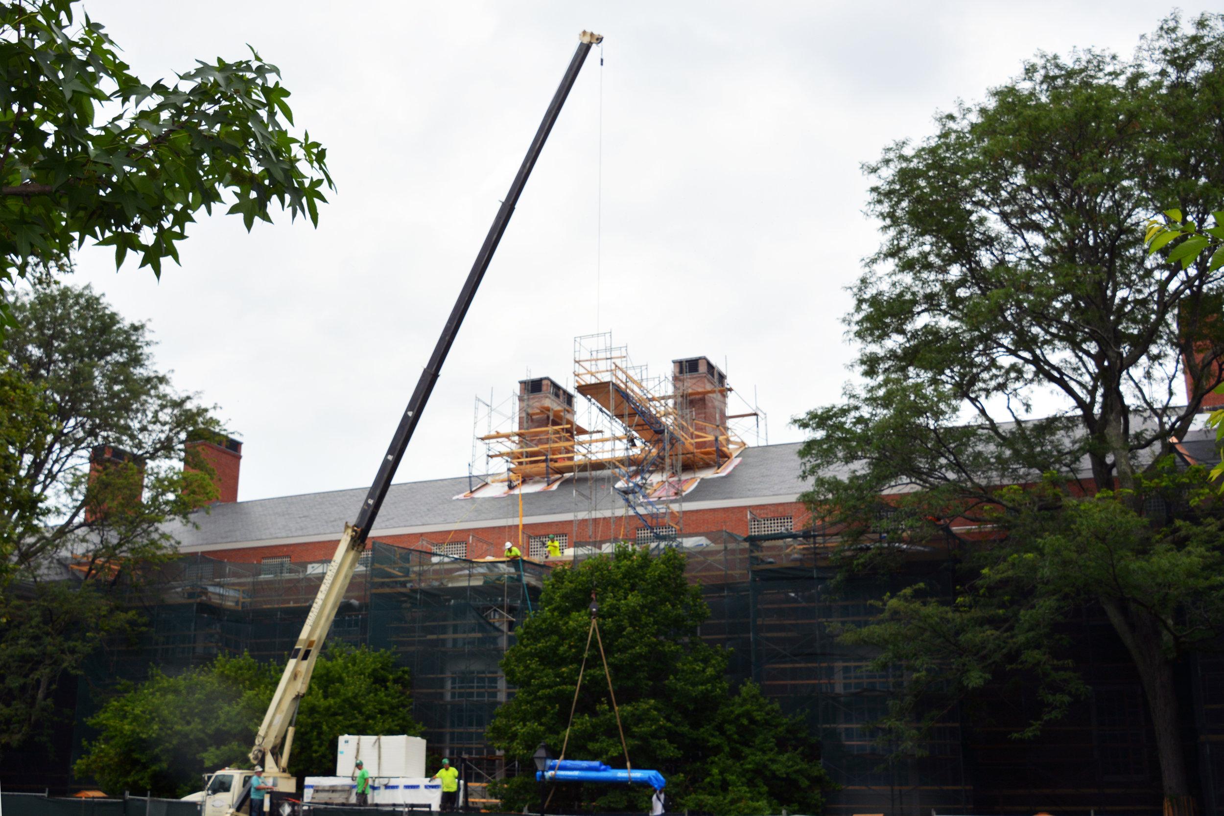 Progress: Chimney Restoration