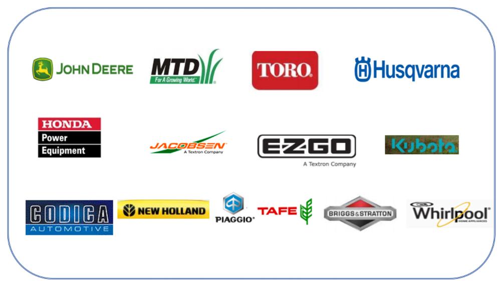 Suprajit Non Automotive Clients