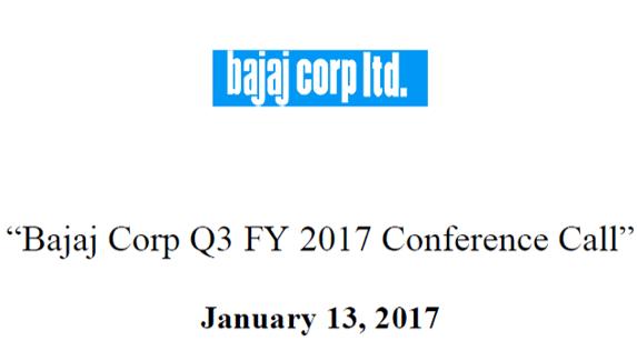 Q3FY17 Cocall Transcript