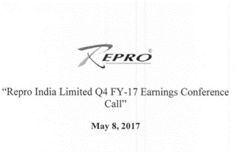 Q4FY17 concall