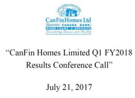 Q1FY18 Concall Transcript