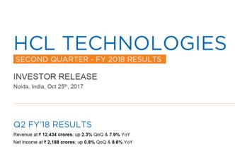 Q2FY18 Investor Release