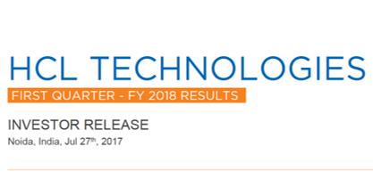 Q1FY18 Investor Release