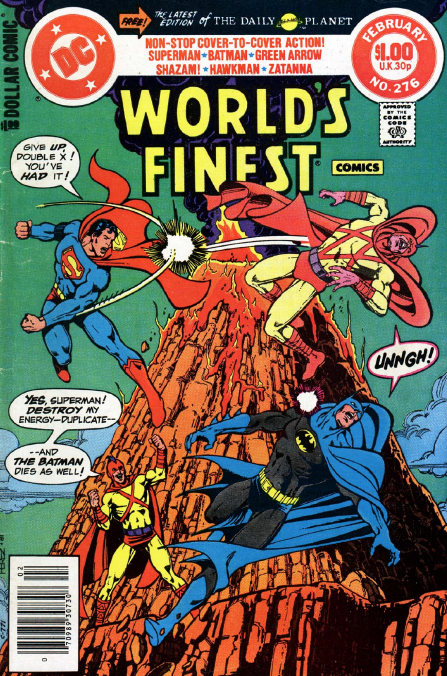 World's Finest Comics #276 - $1 of Non-Stop Action Cover to Cover!