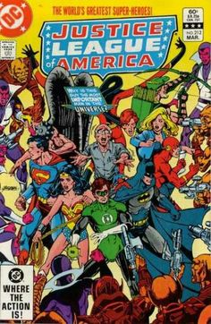 Justice League of America #212 by George Perez