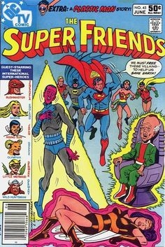 Super Friends #45 & #46 featuring The Global Guardians! How could you see this cover and NOT buy it!