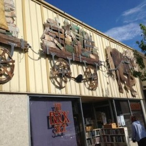 The Book Shop in downtown Penticton, BC