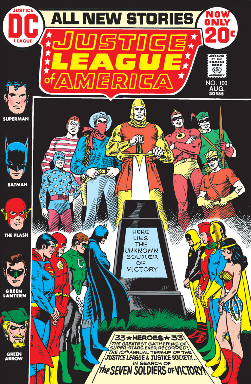 Justice League of America #100