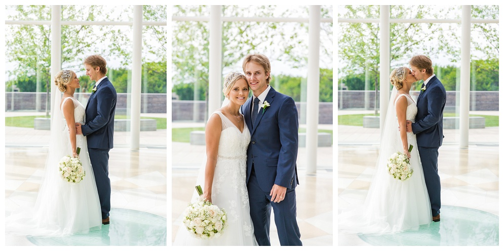 Mallory and Patrick have that fairytale-high-school-romance kind of love. He was the handsome hockey player, she was the gorgeous student manager, their love grew from there. Fast forward a few years, and here they are....married!