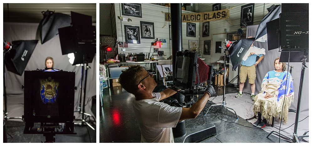 It was an incredible experience meeting Shane and learning the Wet Plate Photography process. For more information on the process and about Shane, visit his website... here !