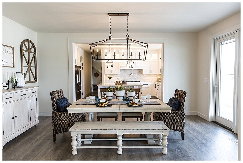 Located in Whispering Bay Bismarck, this gorgeous home was featured in the Fall 2018 Bismarck-Mandan Parade of Homes tour. I am in love with all the details in this home custom designed by Big River Builders. Check out more of there homes  here!