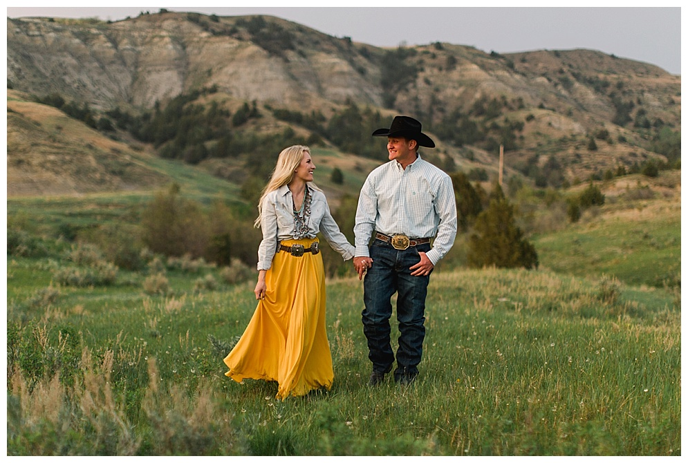 Is it October yet? I am beyond excited to join this couple in Killdeer for what is sure to be a fun and beautiful wedding.   For their engagement session I was invited to the Bice Ranch and boy was I blown away. The Elk running in the hills, sandy beaches, old homestead, it was everything this rustic loving photographer could have wanted.