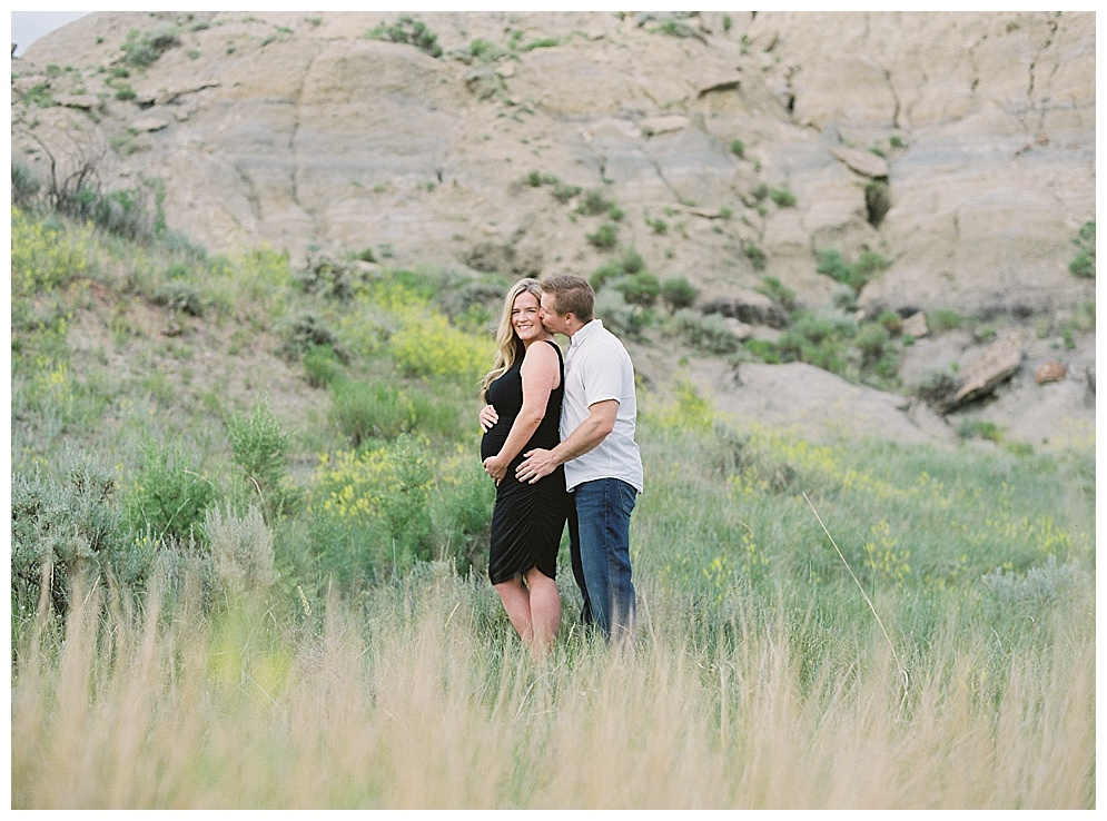 I had the pleasure of capturing Erin & Ryan's maternity session in the Badlands of Medora, North Dakota just a few weeks ago. I am not sure how time has flown past as quickly as it has, but I can recall just a few short years ago meeting this beautiful, funny, sweet girl at her brothers wedding. Shortly after her brothers wedding I photographed her sisters wedding and from then on she was stuck with me :) Ryan is one lucky guy to have such a great person by his side, I know the two of them will raise a smart, kind, and adorable little girl. I can't wait to see where life takes the two of you!