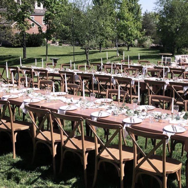 What a magic day✨ 📷 @ktweddings . #springwedding #outdoorwedding #gardenwedding #alfresco #weddingday #weddinginspiration #hudsonvalleyweddings #weddingvenue #bohemianwedding #windrifthall