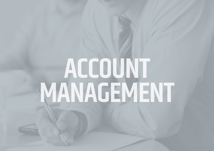 ACCOUNT MANAGEMENT    YOUR TEAM OF AN ACCOUNT DIRECTOR, ACCOUNT COORDINATOR AND CREATIVE LEAD ARE CONSISTENTLY WORKING TOWARDS REACHING YOUR GOALS.