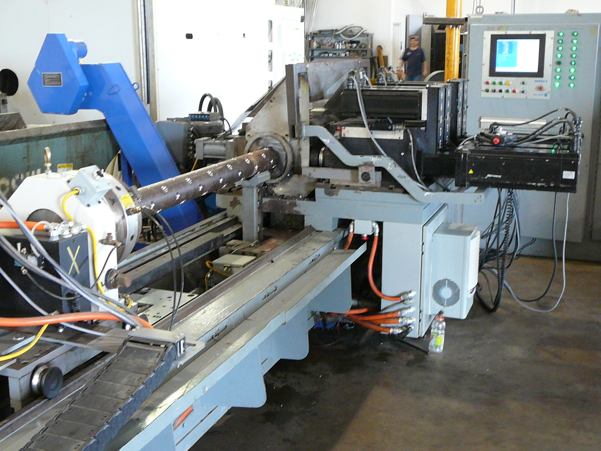 SIEB & MEYER CNC 9 CONTROL CUSTOM MACHINE