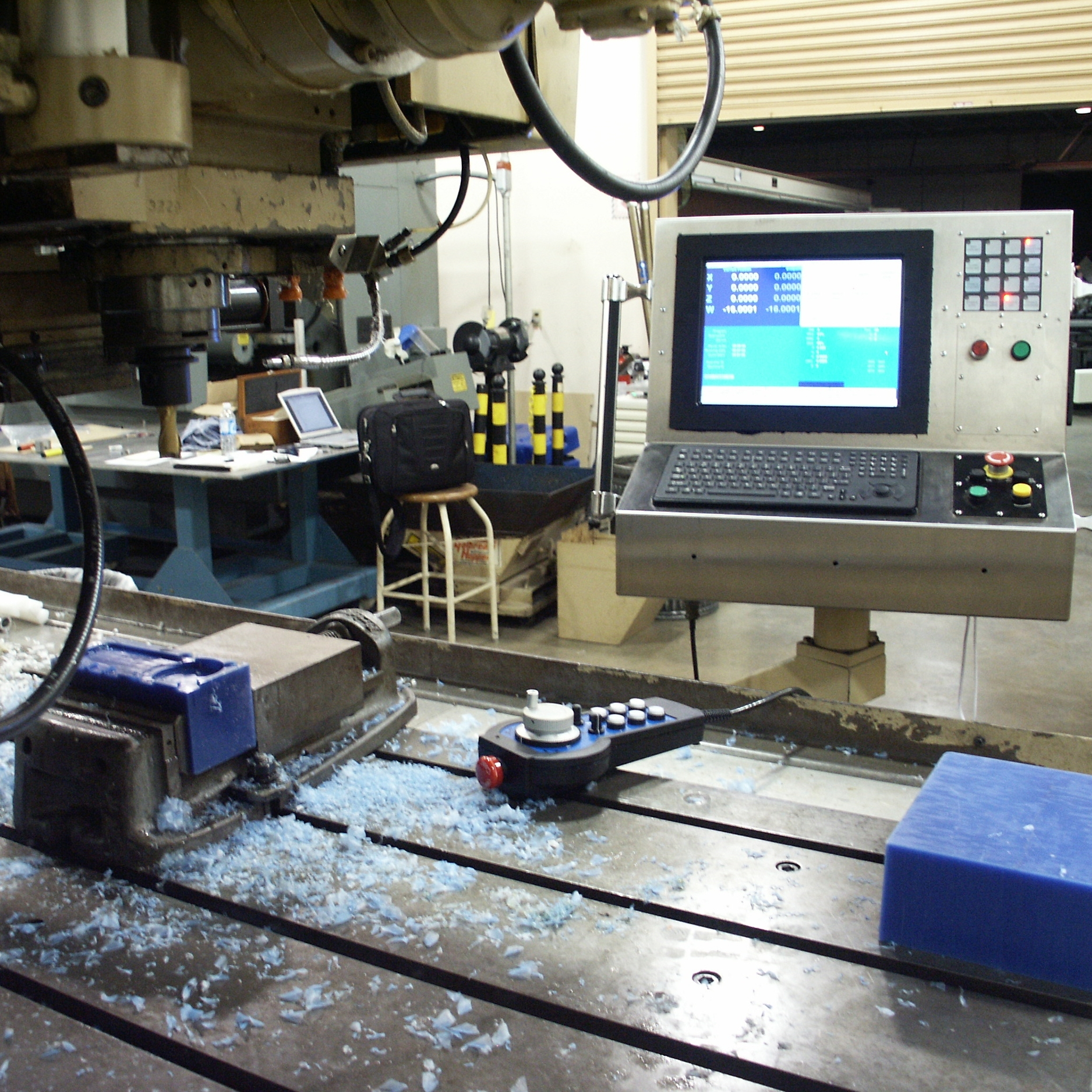 SIEB & MEYER CNC 9 CONTROL MILLING CENTER