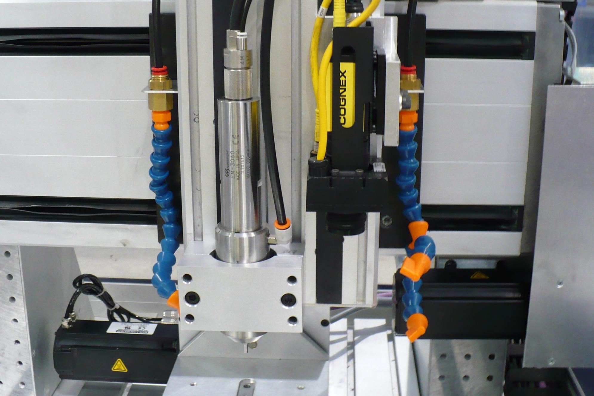 SIEB & MEYER CNC 9 CONTROL TURBINE ROUTER