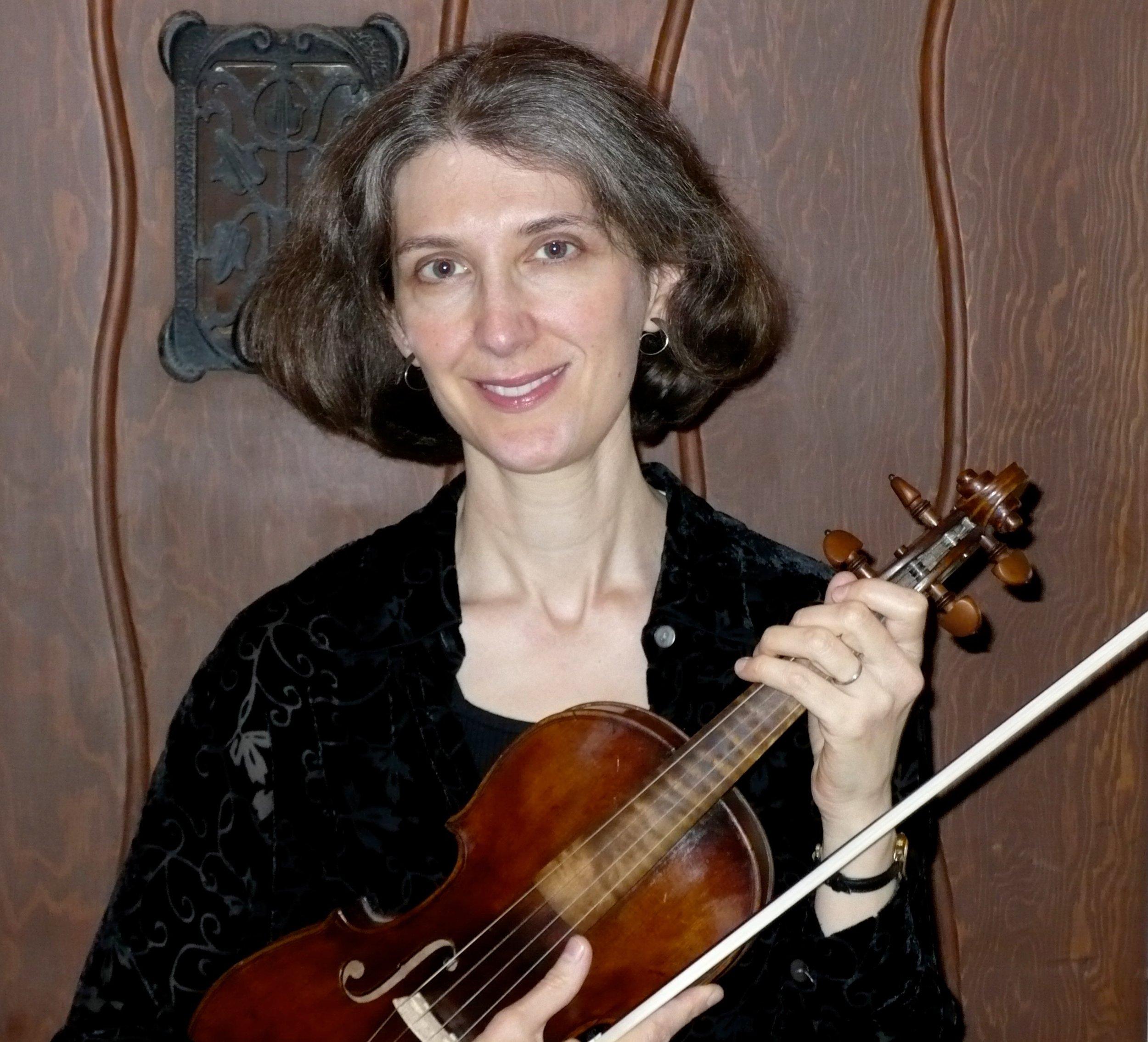 Rachel Hurwitz, violin