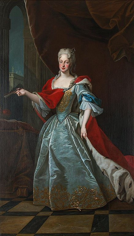 Maria Josepha of Austria, Crown Princess at the Dresden court at the time Zelenka wrote his  Missa Divi Xaverii.