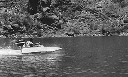 At age 11 George built a fully functioning hydroplane from Popular Mechanics plans.