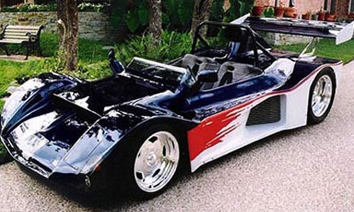 Street legal 1300lb car powered by two Yamaha engines. Scary fast, 0-60 in 3.4 seconds on street tires.