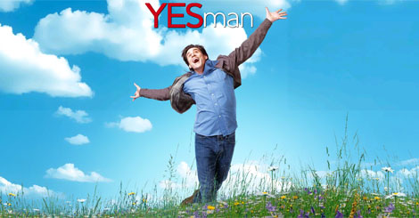 Don't be fooled -- being a Yes Man will not make you this happy.