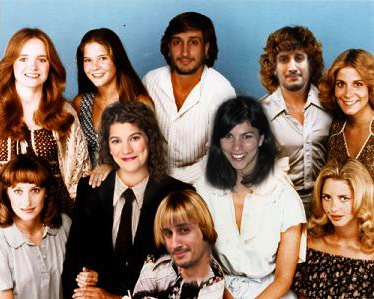 The Bradford family (errr...sort of...), from the 70s TV show, Eight Is Enough Is Enough.
