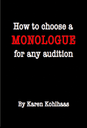 How to choose a monologue