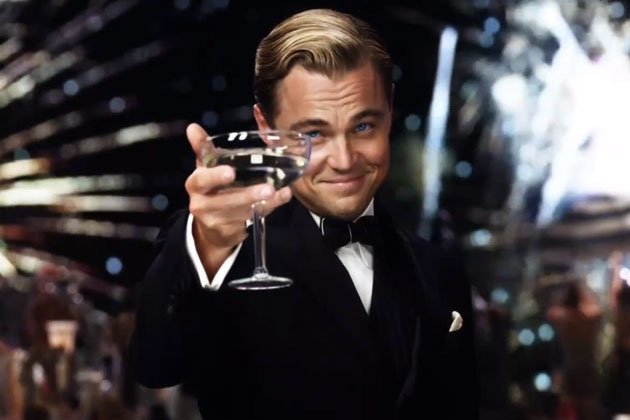 """Looks like Gatsby's mantra for the challenge was, """"I am the personification of awesomeness…"""""""