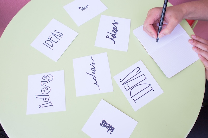 How do you capture those great ideas when you get a hit of inspiration?