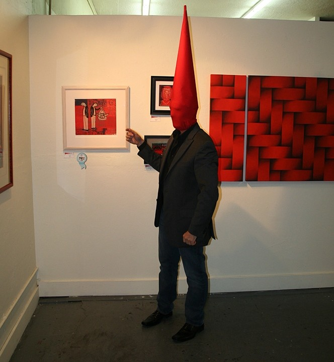 Tomte Art Lecture 1 - Shades of Red, 2011 Performance
