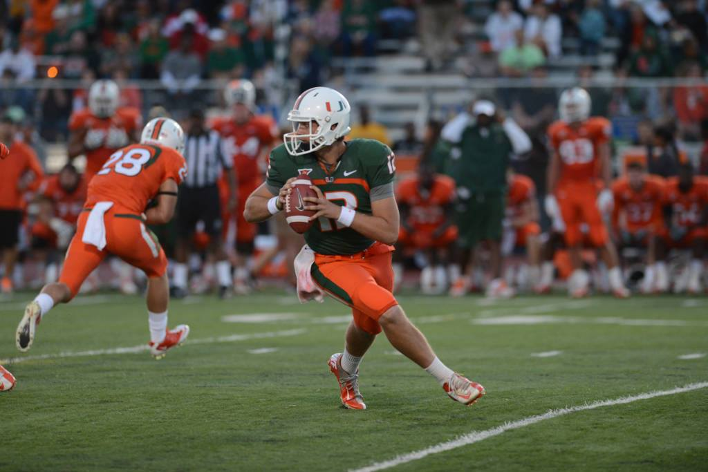 Preston Dewey, former quarterback for The University of Miami Hurricanes.