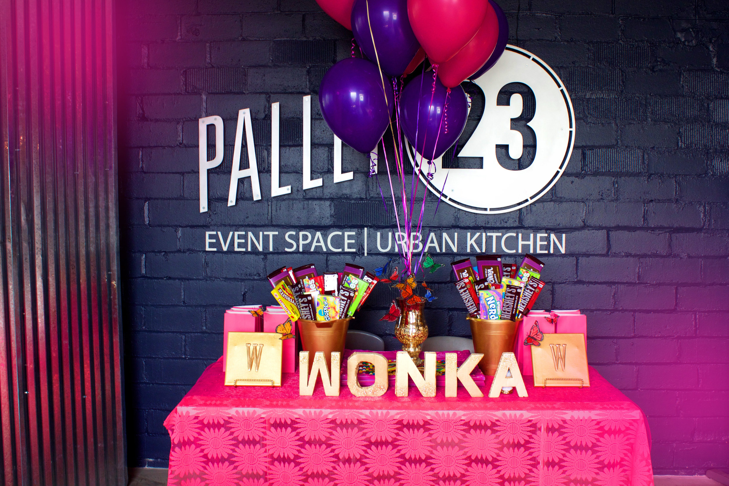 Gorilla Cinema Presents: The Willy Wonka Experience at Pallet 23
