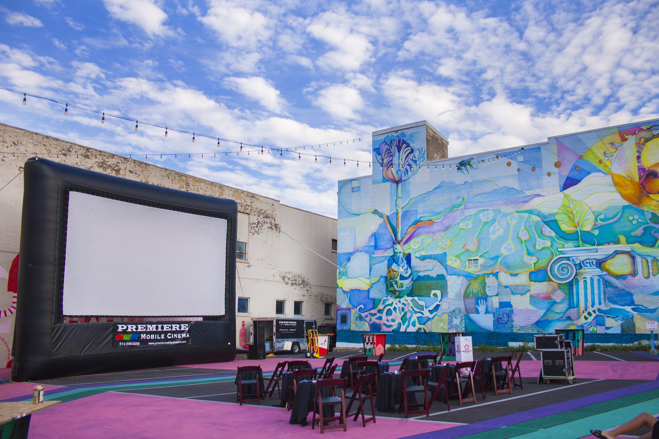 Gorilla Cinema Movie PopUp: 'The Goonies' in Covington's MadLot featuring a free screening with food + cocktails themed to the film
