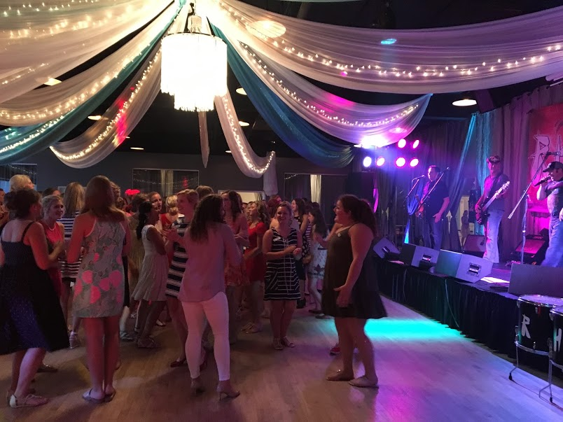 High School Formal Dance With Live Band