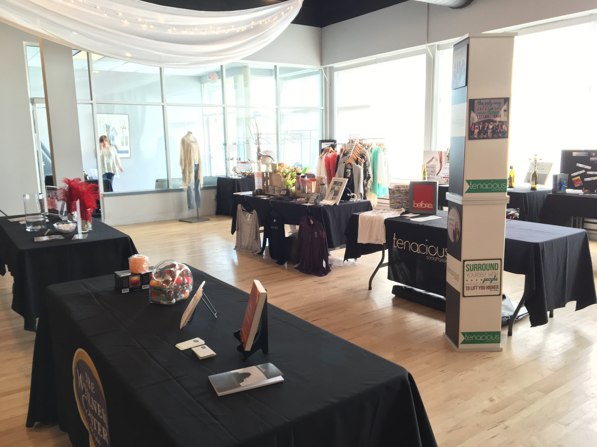 Vendor Setup Corporate Event Sterling Hall