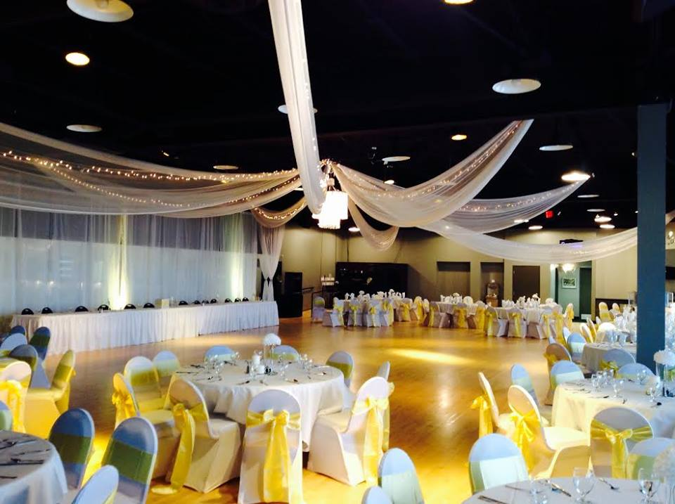Yellow and White Themed Event Majestic Hall