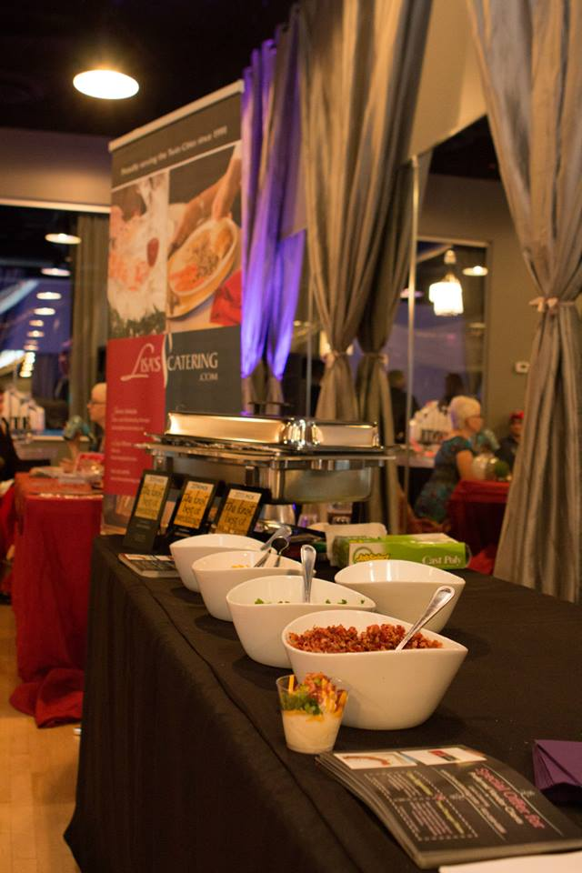 Lisa's Catering Provides Catering Services At Midpointe Event Center In The Majestic Hall.