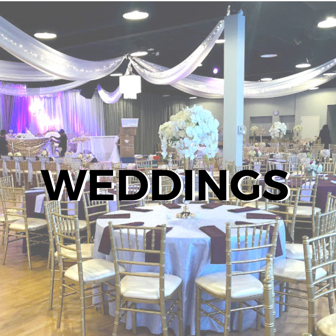 With flexible food and beverage policies, versatile layouts and a central and convenient location - Our venue spaces are perfect for Wedding ceremonies and receptions from 50 - 550 guests.    SEE MORE DETAILS >>