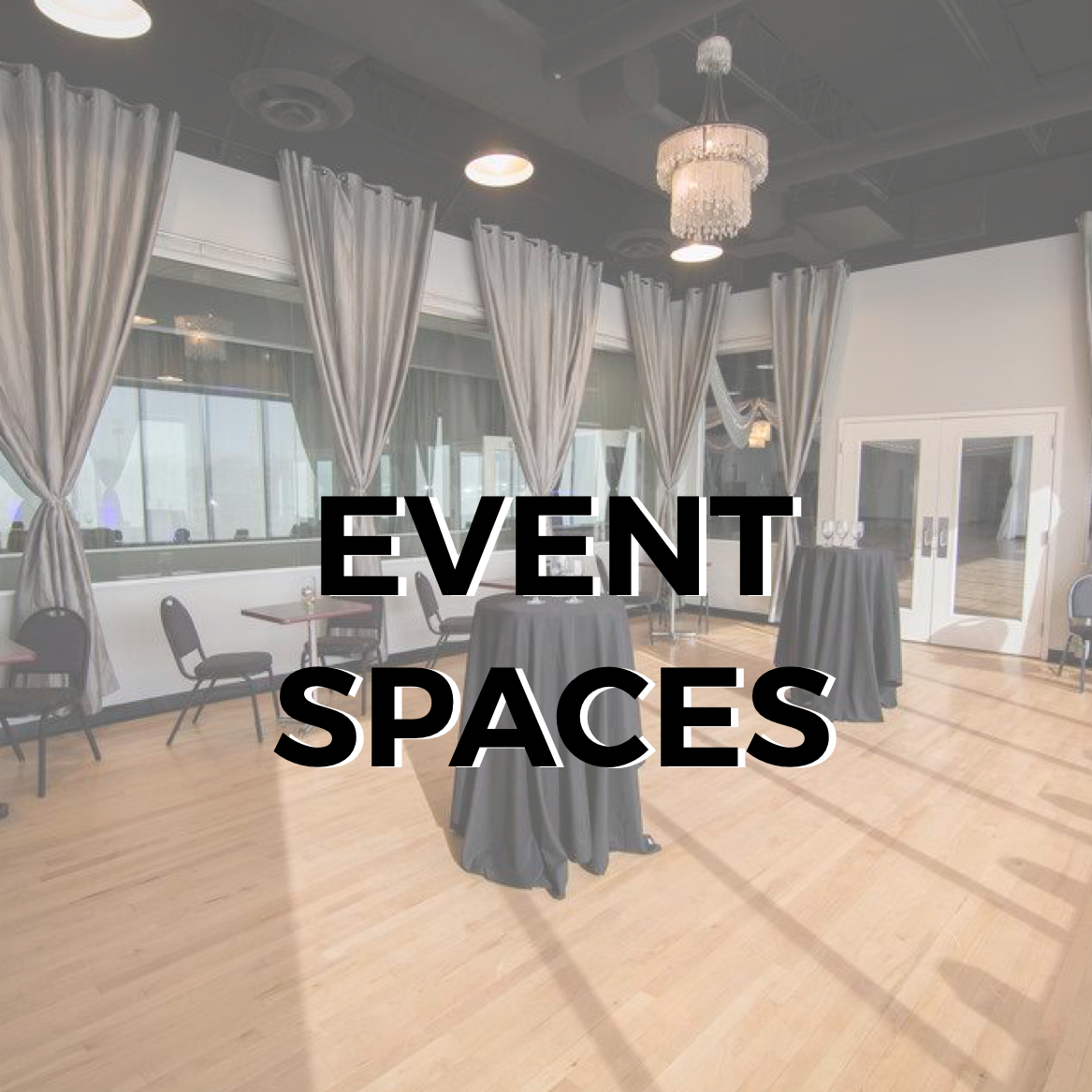 With over 14,000 square feet of space and 5 distinct spaces, our versatile venue gives you plenty of options for imaginative themed layouts and the ability to craft specific needs and details for your special event.   SEE MORE DETAILS >>