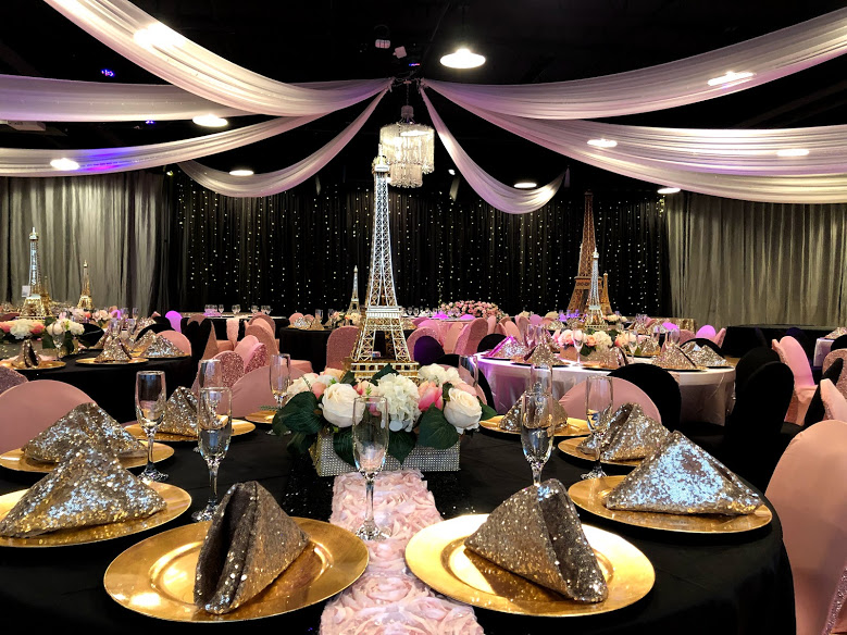 Midpointe Event Center Majestic Hall Quinceanera Black Pink Decor.jpg