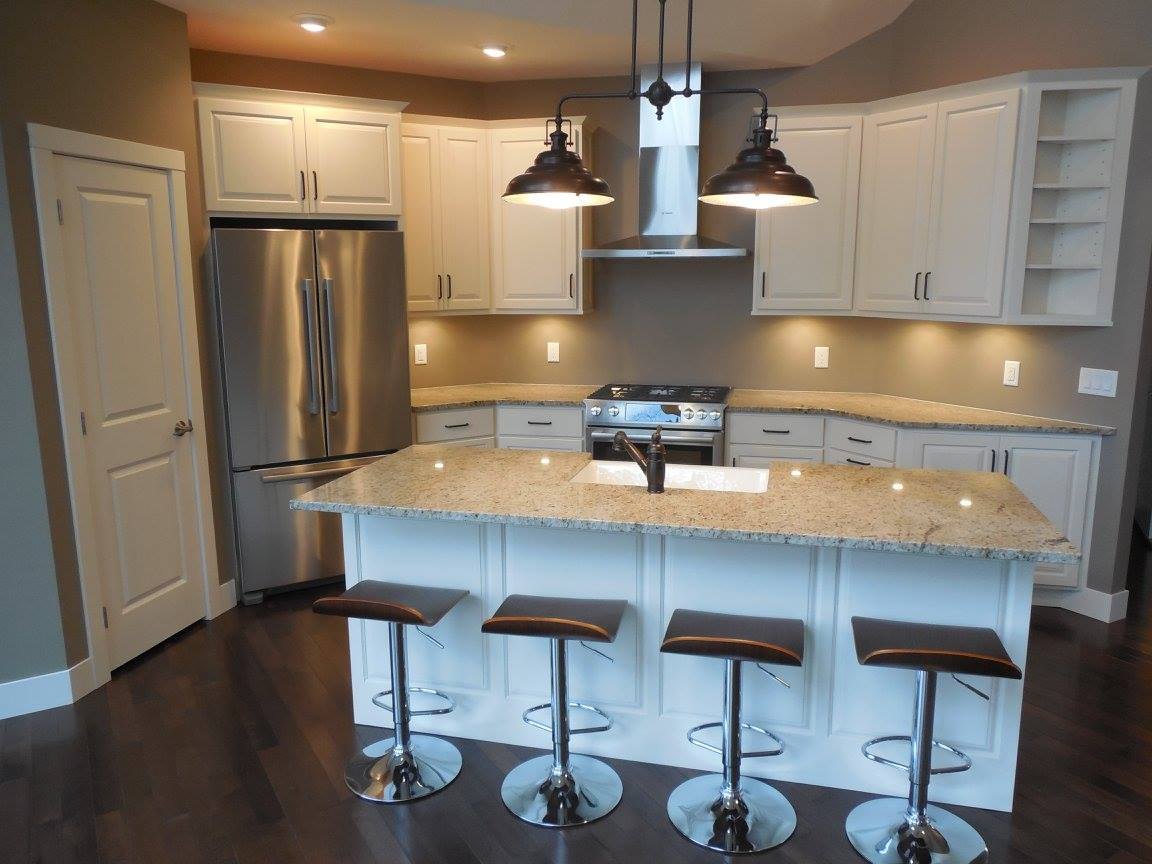 New home construction kitchen solutions by JC Builders.