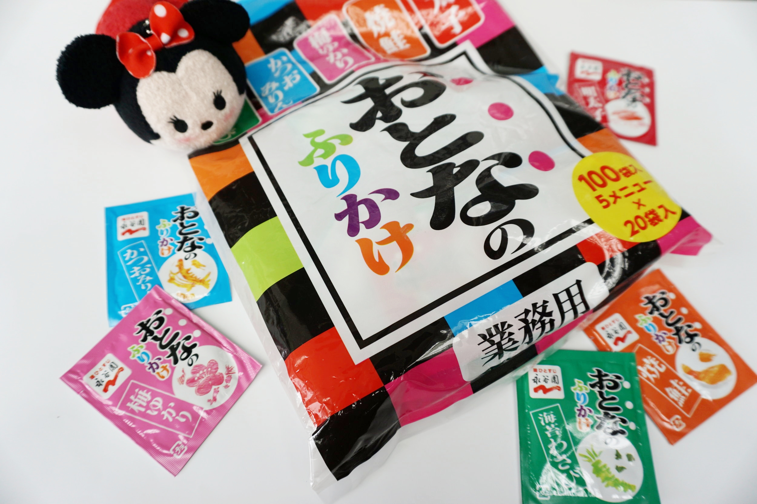 Furikake packets (100 individually packaged) with 5 different flavors!