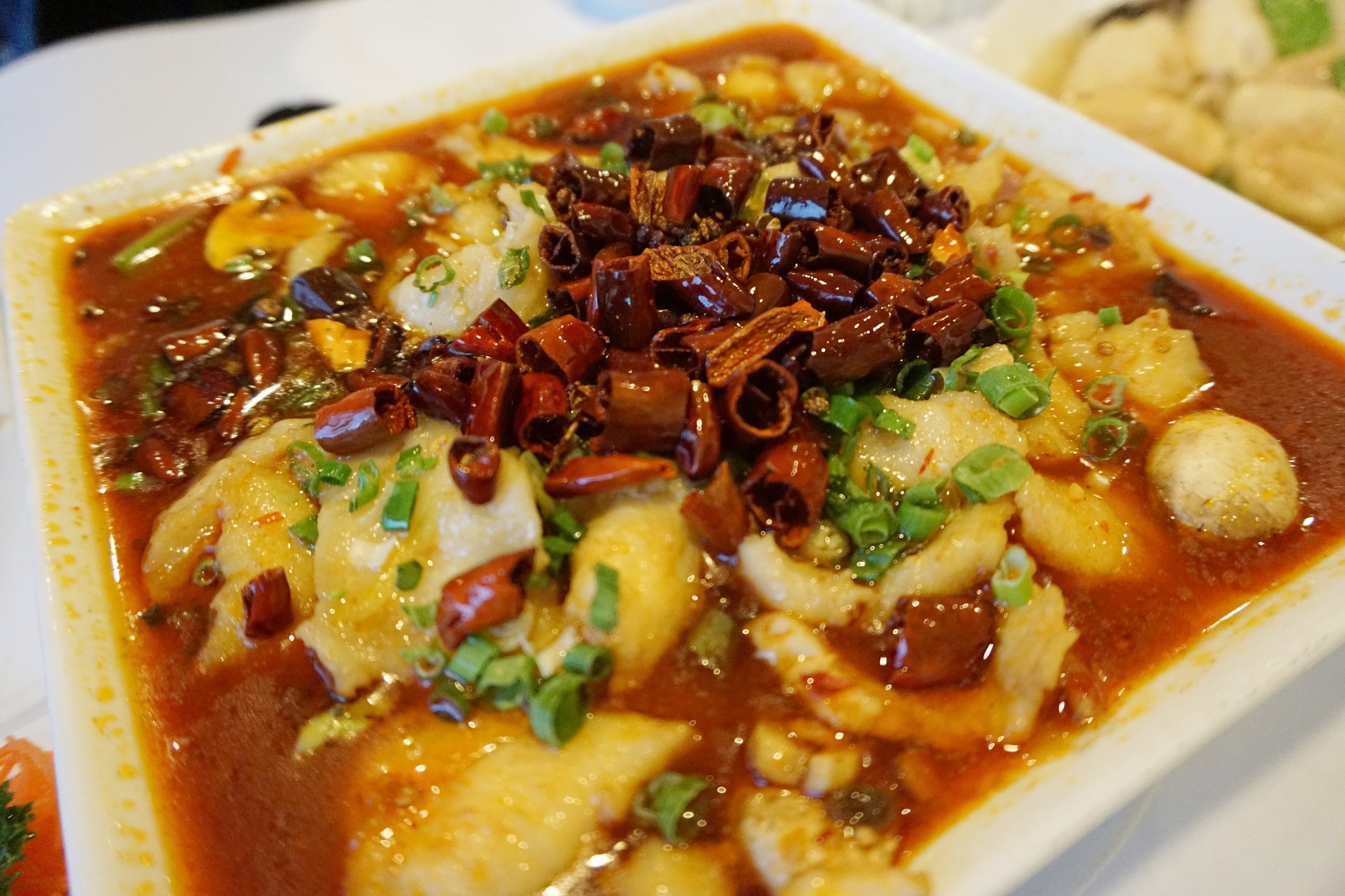 Fish Fillet in Hot Chili Sauce